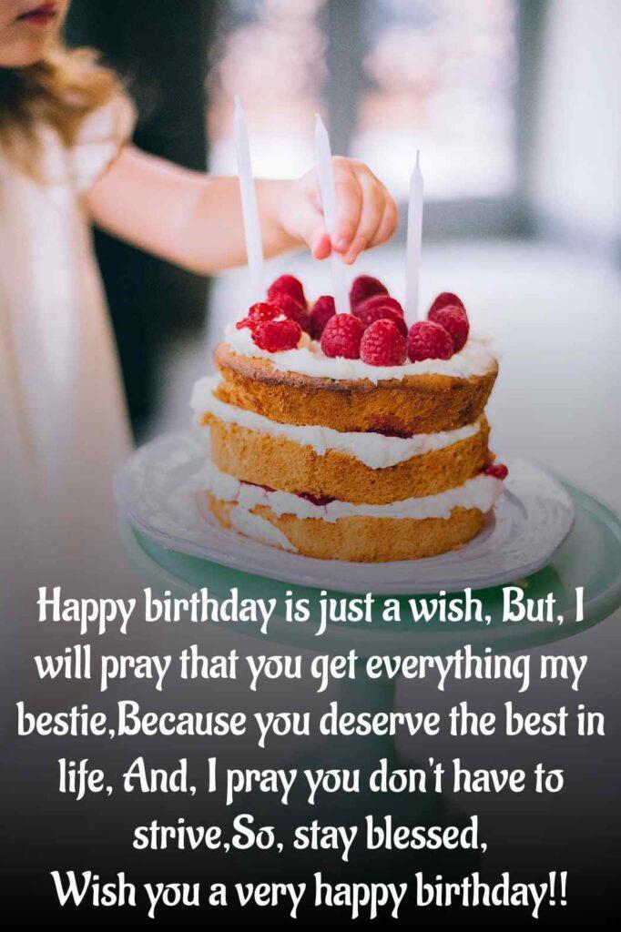 Birthday wishes english font image